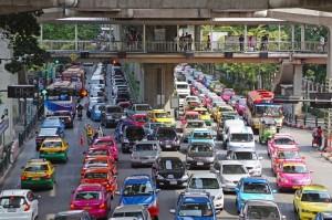 Le trafic routier en équations