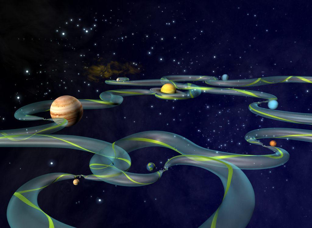 Points de Lagrange et missions interplanétaires
