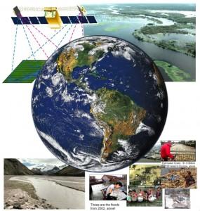 Ecoulements des fleuves et rivières : un déluge d'images