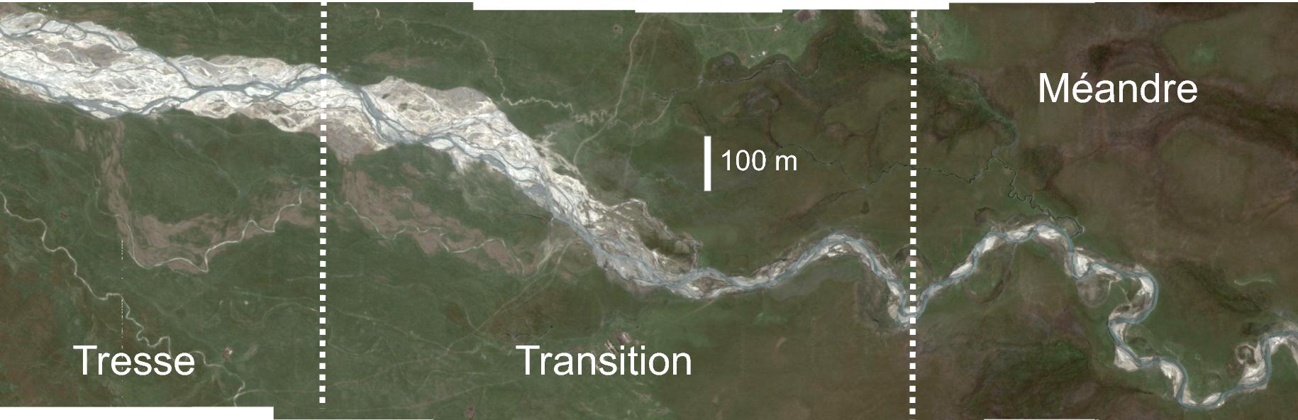 Quelle est la forme des rivières ?