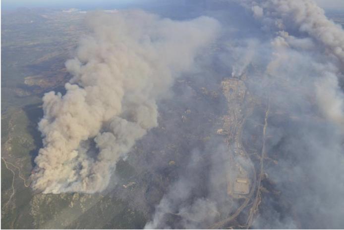 Lutter contre les incendies depuis les airs