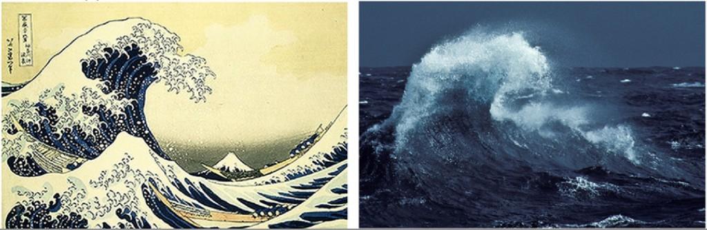 Des vagues hors du commun
