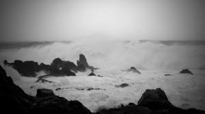 Surcote météorologique dans le bassin d'Arcachon, la tempête Klaus