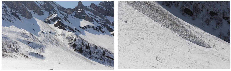 Neige de printemps et avalanches