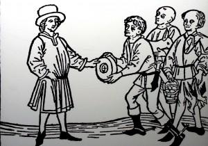 Commerce en réseau au Moyen Âge