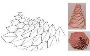 Nature et feuille de papier