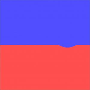 Simulation numérique d'une instabilité de Kelvin-Helmholtz